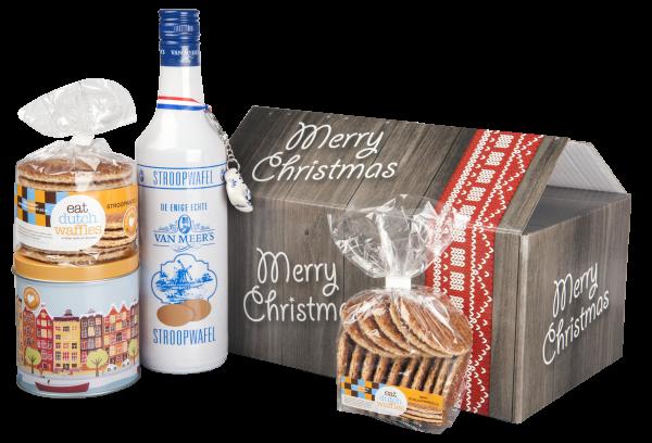 Stroopwafel kerstpakket